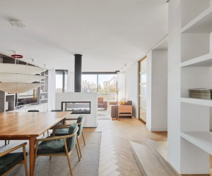 Conti. Cert Arquitectos Design a Private Home on Modolell Street, in Barcelona, Spain