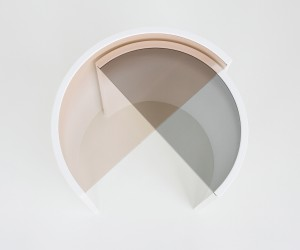 Contour Side Table by Bower