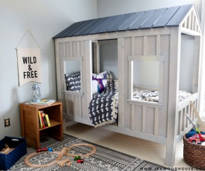 Cool, Creative DIY Kids Beds