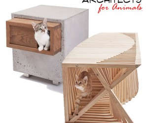 Cool Cribs for Cats Designed by 14 Architects.