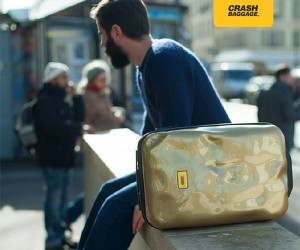 Cool Looking Luggage That Refutes Handle With Care