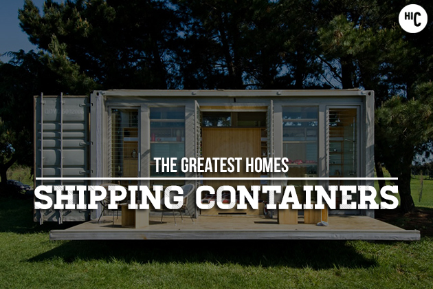 Coolest shipping container homes - Better homes and gardens storage containers ...