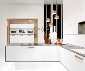 Copper and White Kitchen Trend