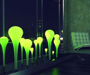 Coral Lamp: Solar Powered Lighting Set
