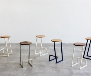 Corktown: Minimal Counter  Bar Stool
