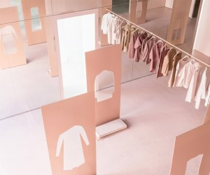 COS Pop-Up Shop in LA by Snarkitecture