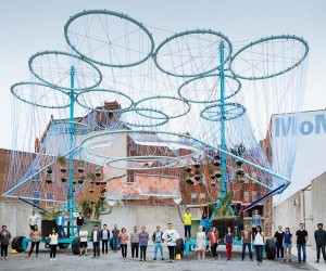 COSMO Installation by Andrs Jaque - MoMA PS1 YAP 2015