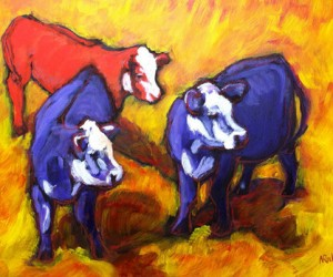 Cows on Crush by Nancy Ruhl