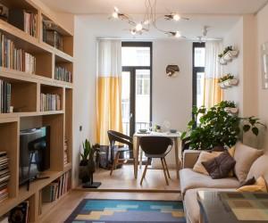 Cozy apartment in Kiev by Vitalina Golubev