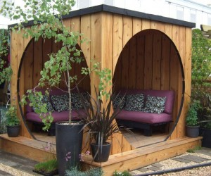 Create an Outdoor Living Area with a Gazebo