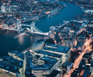 Creative and Futuristic Cityscapes of London by Otto Berkeley