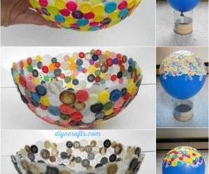 Creative Crafts Made With Buttons