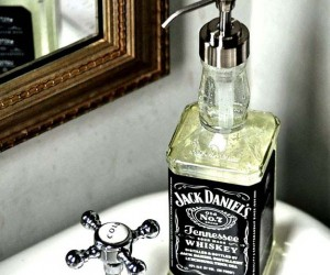 Creative DIY Soap Dispensers