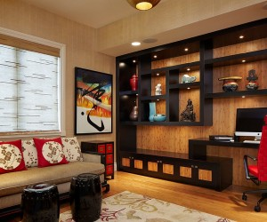 Creative Home Offices with an Asian Influence
