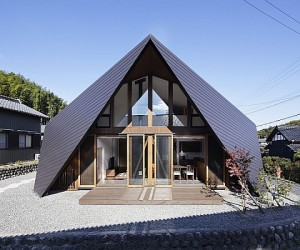 Creative Origami House In Japan