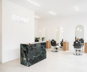 Crisp Barbershop In Montral by IVYSTUDIO