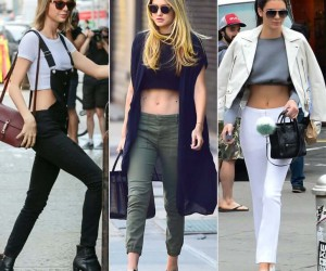 crop top- Different  styles to wear crop top to look more attractive