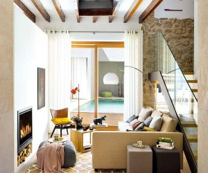 Crumbling Old Manor House in Mallorca Becomes Idyllic Retreat