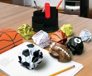 Crumple Ball Notepad : Making Working Fun.