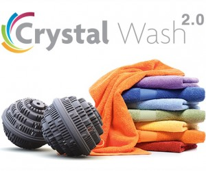 Crystal Wash 2.0: Detergent-Free Laundry