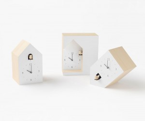 Cuckoo Clock Collection by Nendo