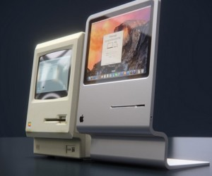 Curvedlabs Pays Tribute to Design History of Original Apple Macintosh