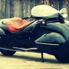 Custom Art Deco Motorcycle
