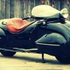 Custom Art Deco Motorcycle