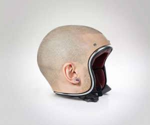 Custom Made Human Head Helmets