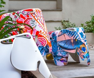 Customised Eames Elephants Auctioned Benefit Charity
