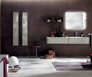 Customized Elegance Tasteful Trio of Exquisite Bathrooms from Scavolini