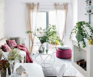 Cute and practical design for a 45 sqm studio apartament