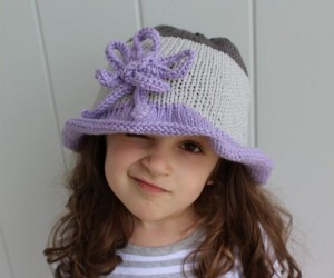 Cute Knitted Sun Hats For Babies