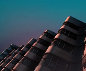Cyan: Random Architectural Fragments by ystein Aspelund