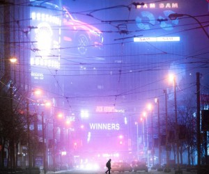 Cyberpunk and Futuristic Urban Photography by Lucan Coutts