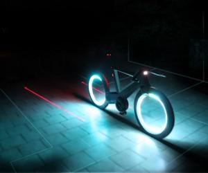 Cyclotron Spokeless Smart Bicycle