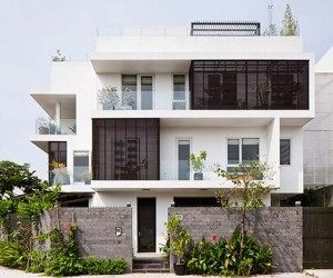 D2 Town House in Ho Chi Minh City by MM Architects