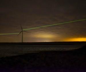 Dan Roosegaardes Windlicht Installation