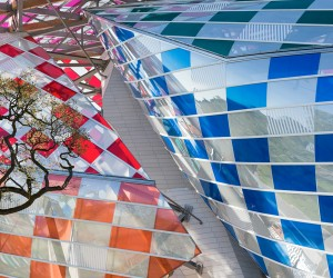 Daniel Buren brings color to Fondation Louis Vuitton