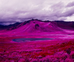 Daniel Zvereff transforms the Arctic landscape with Infrared Film