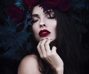 Dark Beauty and Fine Art Portrait Photography by Kenul Rustamova