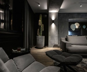 Dark Interior Design by YoDezeen