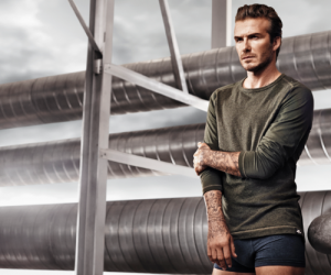 David Beckham stars in new campaign for HM