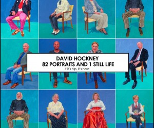 David Hockneys 82 Portraits and 1 Still Life