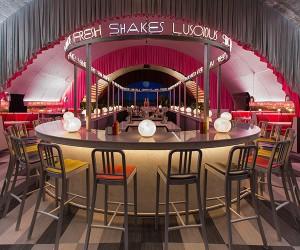 David Rockwell Unveils The Diner Restaurant In Milan