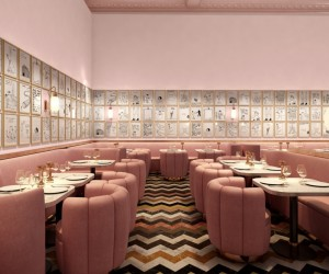 David Shrigley Transforms the Sketch Restaurant