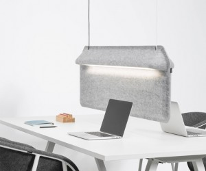 De Vorm AK 2 Workspace Divider Lamp
