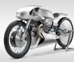 Death Machines of Londons Moto Guzzi Le Mans II Airforce