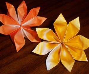 Decorate Your Home with These Beautiful Origami Flowers