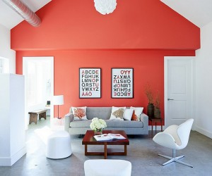 Decorating with Living Coral: Pantones Color of the Year 2019